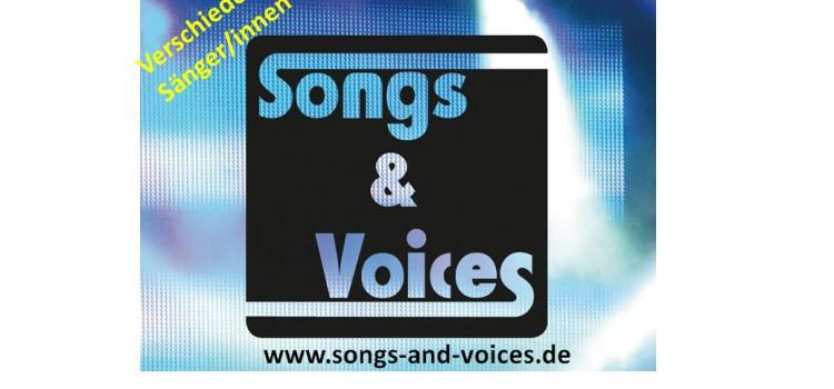 Songs & Voices – Das Line Up Oktober 2015!